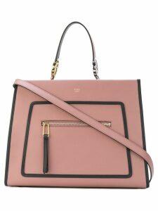 Fendi regular Runaway tote bag - Pink