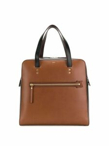 Joseph Ryder keychain tote bag - Brown