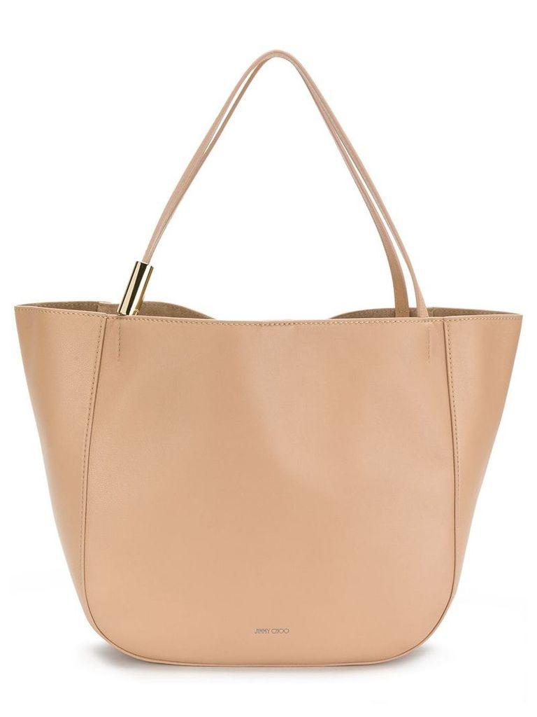 Jimmy Choo oversized tote bag - Neutrals