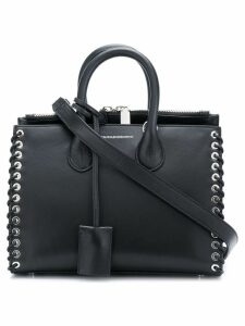 Calvin Klein 205W39nyc woven detail tote - Black