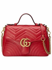 Gucci GG Marmont small top handle bag - Red