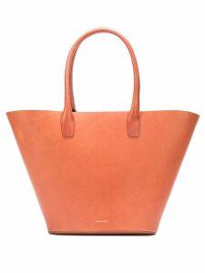 Mansur Gavriel triangle tote bag - Brown