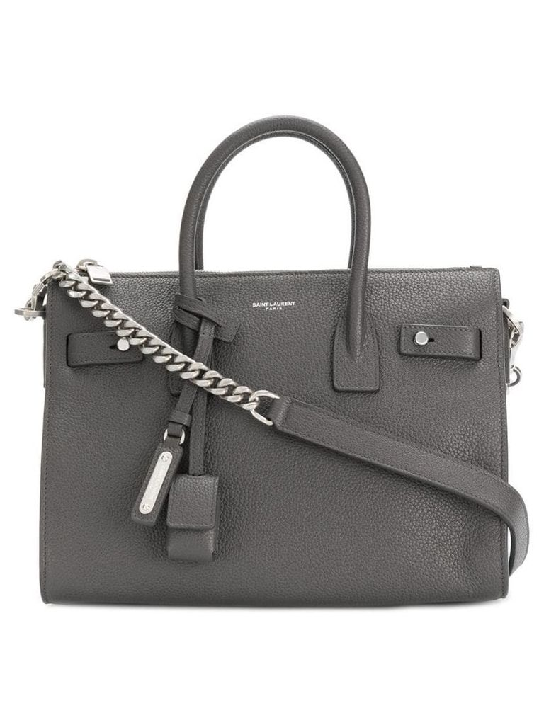 Saint Laurent Sac De Jour Souple tote - Grey