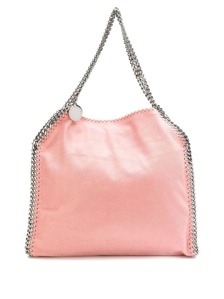 Stella McCartney Stella logo tote bag - Pink