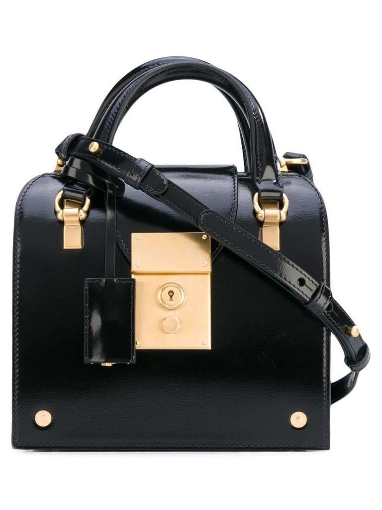 Thom Browne calfskin mrs. thom mini bag - Black