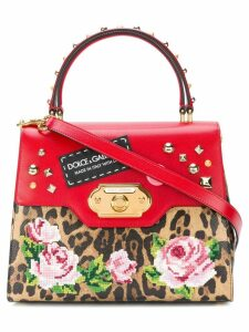 Dolce & Gabbana Welcome printed tote - Brown