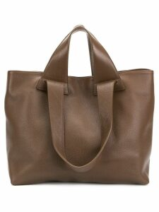 No/An multi-strap large tote - Brown
