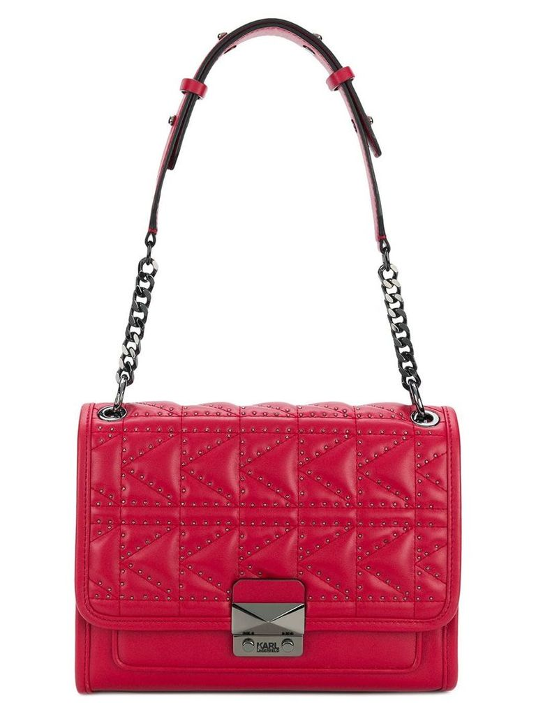 Karl Lagerfeld Kuilted handbag - Red