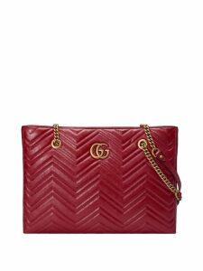 Gucci GG Marmont matelassé medium tote - Red
