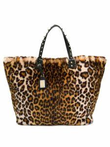 Dolce & Gabbana leopard print tote bag - Neutrals