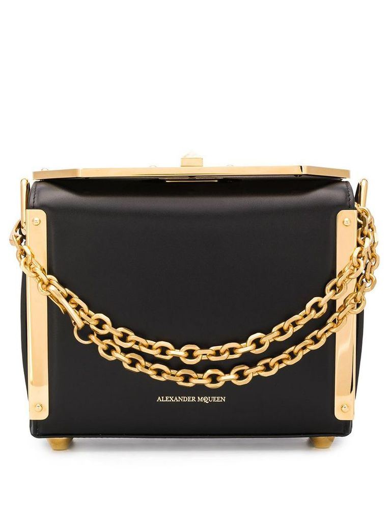 Alexander McQueen Box bag 19 - Black