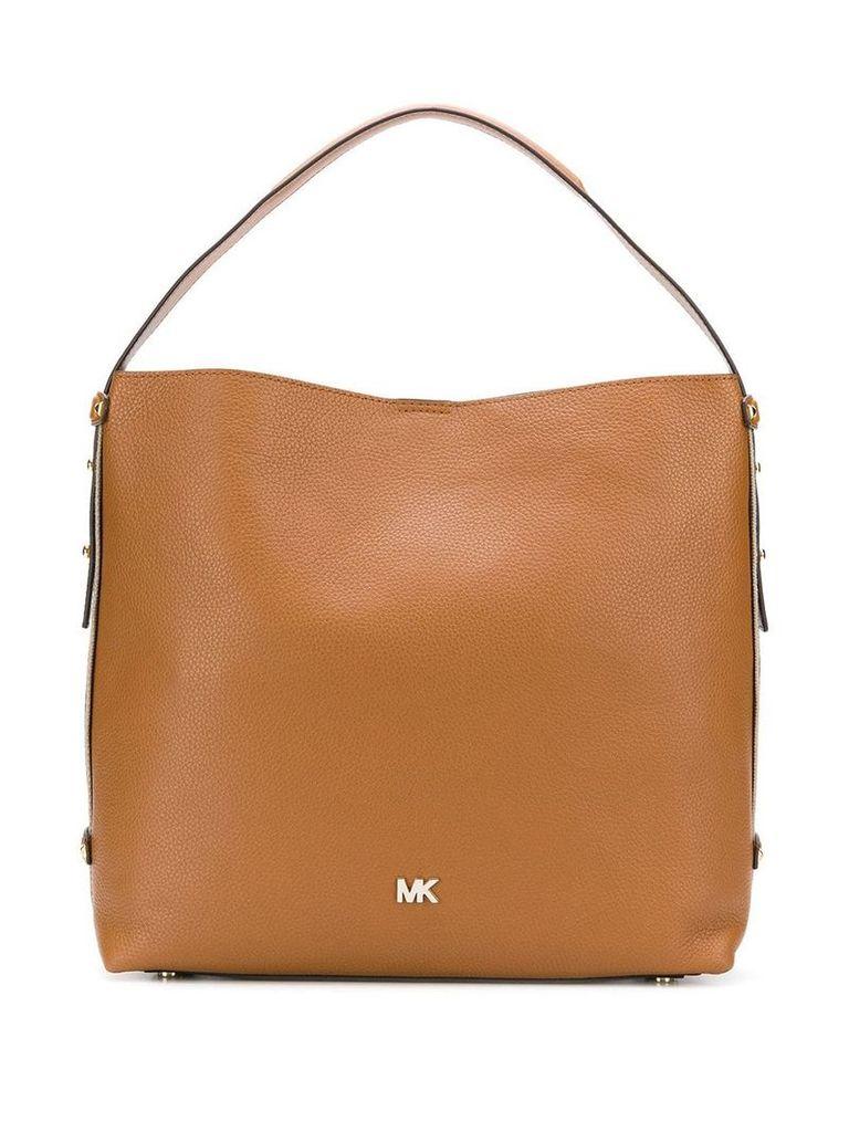 Michael Michael Kors logo tote bag - Brown