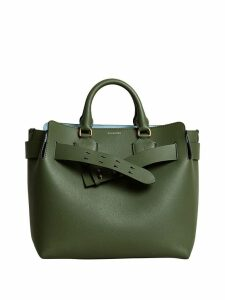 Burberry The Medium Leather Belt Bag - Green
