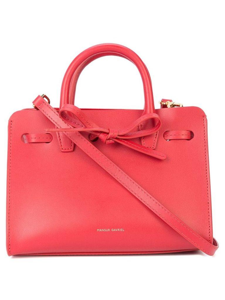 Mansur Gavriel Mini Mini Sun Bag - Red