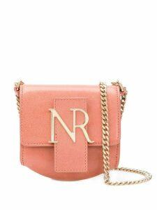 Nina Ricci logo plaque mini shoulder bag - Pink