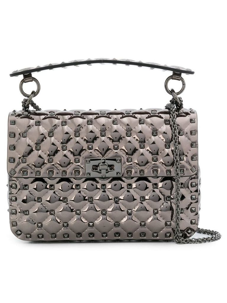 Valentino Valentino Garavani Rockstud Spike crossbody bag - Metallic