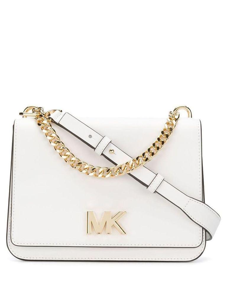 Michael Michael Kors Mott crossbody bag - White