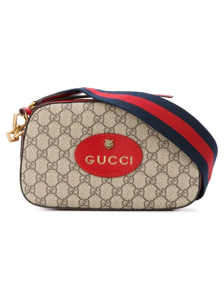 Gucci GG supreme messenger bag - Neutrals