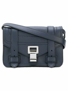 Proenza Schouler PS1+ Mini Crossbody - Blue