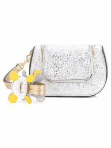Anya Hindmarch 'Circulus Mini Vere' satchel - Metallic