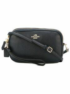 Coach top zip crossbody bag - Blue