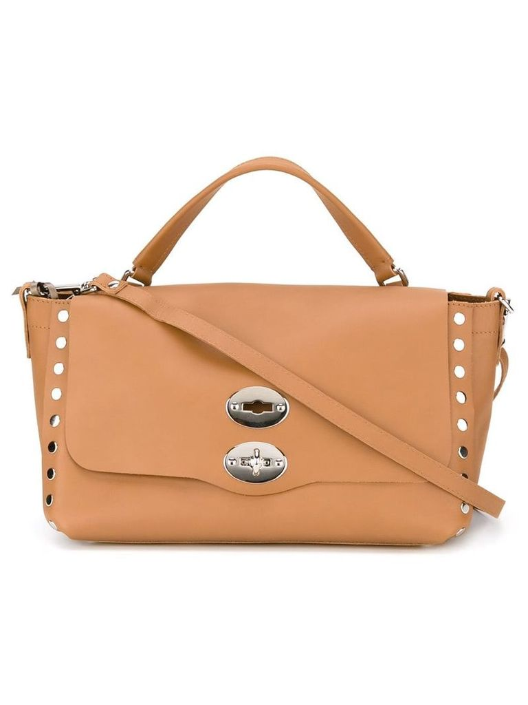 Zanellato small Postina satchel - Brown