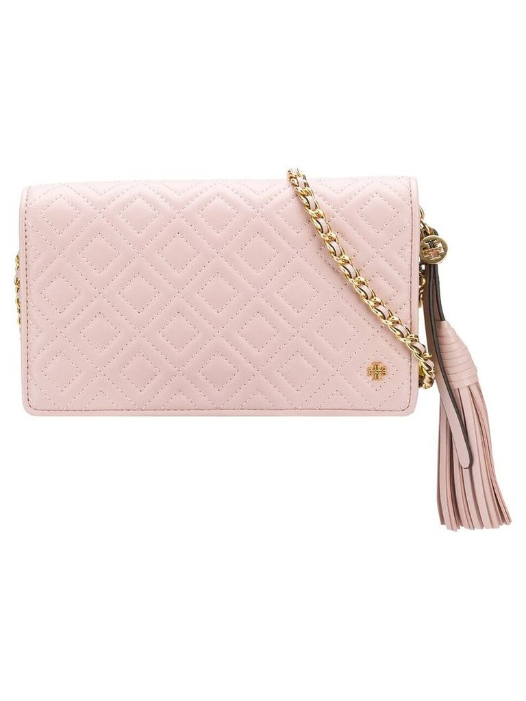 Tory Burch quilted crossbody bag - Pink