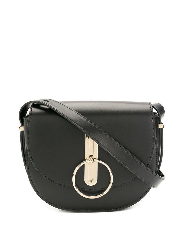 Nina Ricci O-ring shoulder bag - Black