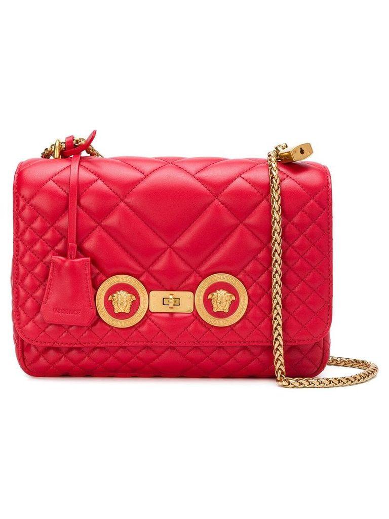 Versace quilted shoulder bag - Red