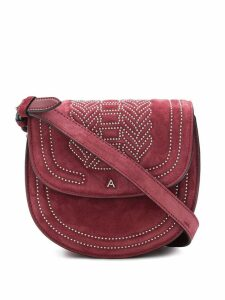 Altuzarra crossbody saddle bag - Red