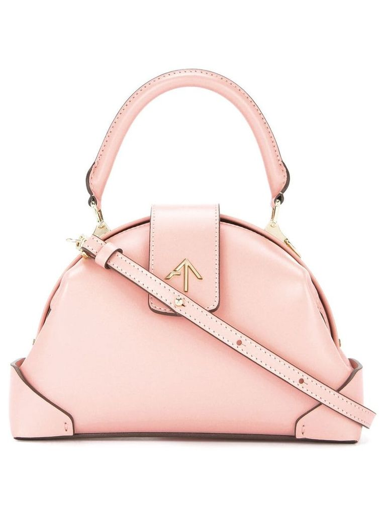Manu Atelier Demi crossbody bag - Pink