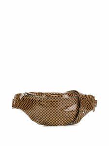 Manokhi printed waist bag - Brown