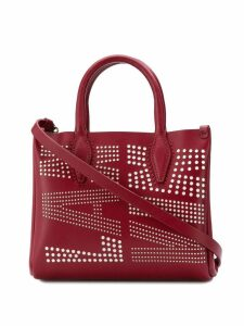 Lanvin Nano logo crossbody bag - Red
