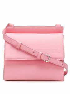 Calvin Klein 205W39nyc structured cross body bag - Pink
