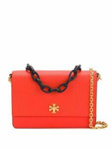 Tory Burch foldover logo crossbody bag - Red