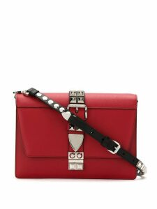 Prada studded Elektra crossbody bag - Red