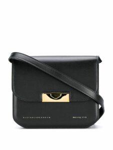 Victoria Beckham Eva foldover crossbody bag - Black