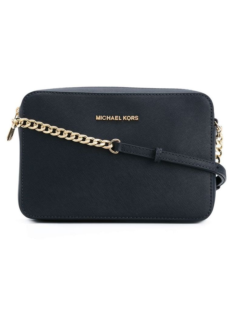 Michael Michael Kors logo crossbody bag - Blue