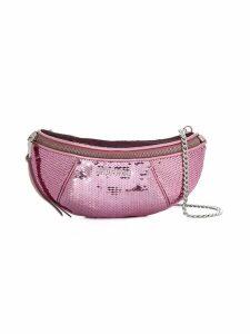 Miu Miu sequinned leather belt bag - Pink