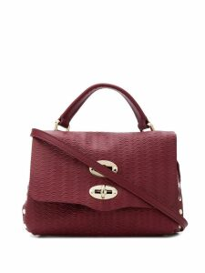Zanellato side stud cross body bag - Pink