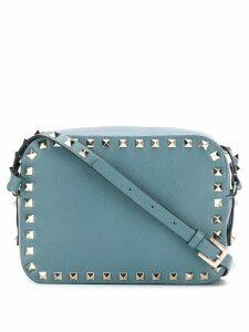 Valentino Valentino Garavani Rockstud shoulder bag - Blue