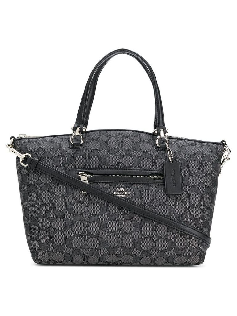 Coach Prairie printed satchel - Black
