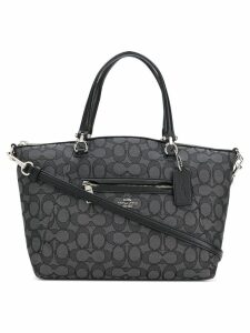 Coach Prairie printed satchel - Black