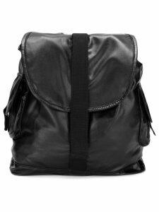 Andorine large strappy backpack - Black
