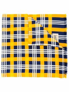 Yves Saint Laurent Pre-Owned checked scarf - Multicolour