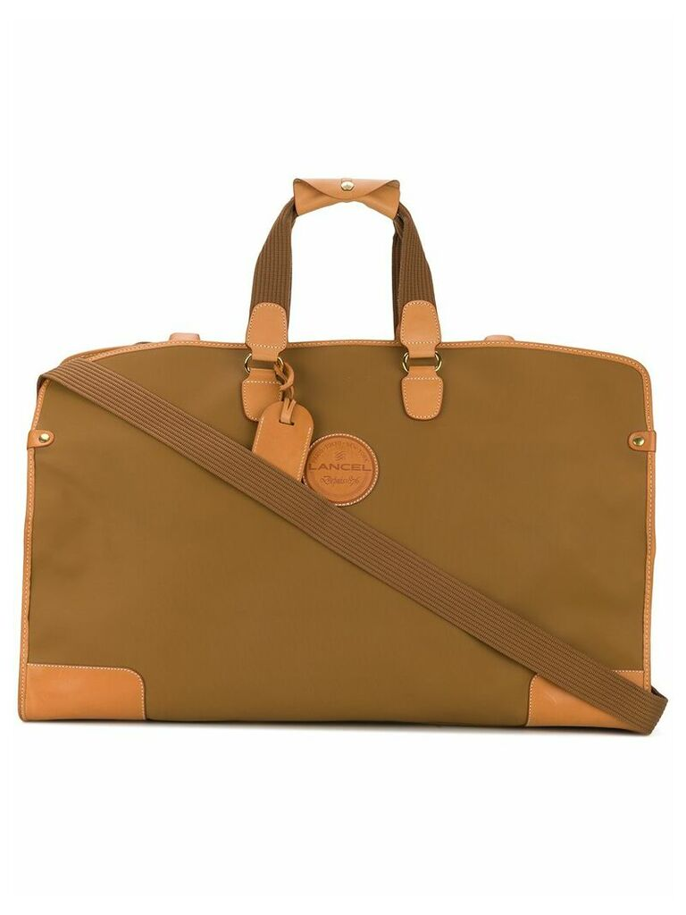 A.N.G.E.L.O. Vintage Cult Lancel luggage bag - Brown