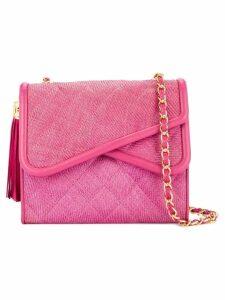 Chanel Pre-Owned asymmetric flaps shoulder bag - Pink