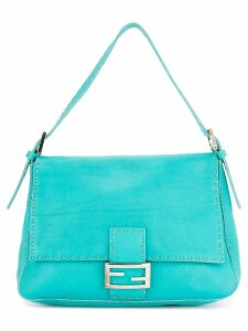 Fendi Pre-Owned Selleria Mamma Baguette bag - Blue
