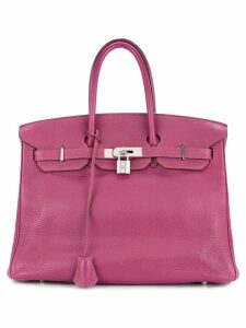 Hermès Pre-Owned Birkin 35 Taurillon Clemence tote bag - Pink