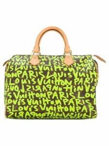 Louis Vuitton Pre-Owned Speedy 30 graffiti tote - Brown